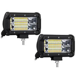 2x 5inch CREE LED Light Pods LITEWAY - 120w Flood Beam Fog L