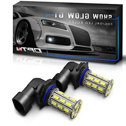 OPT7 Show Glow G1 9006 LED Fog Light Bulbs - 6000K Cool Whit