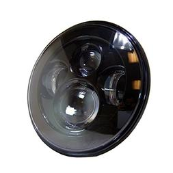 """uxcell 7"""" Round LED Projector Headlight For Harley Davidson"""