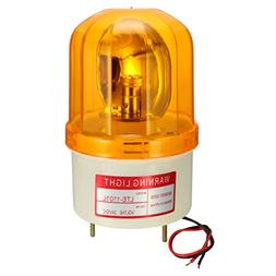 warning light bulb rotating flashing