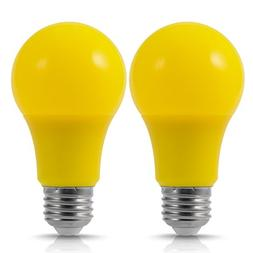Yellow Bug Light Bulb, JandCase Holiday Decoration LED Bulbs